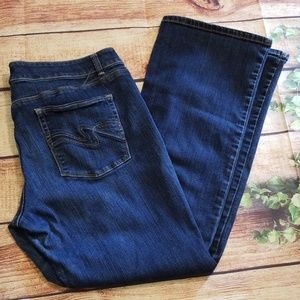 White House Black Market Jeans Boot Leg Size14S